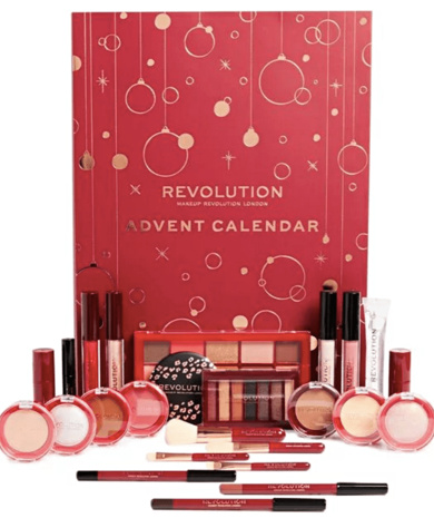 make up revolution adventkalender-the millennial mom