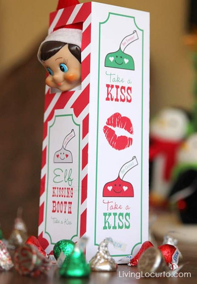 Elf-Kissing-Booth_The millennial mom