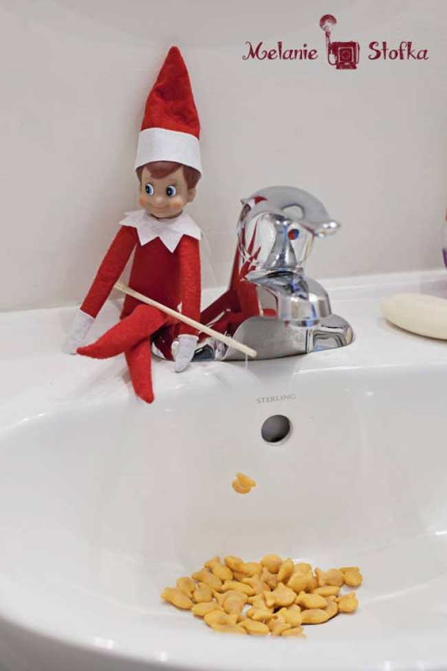 creatieve ideeen elf on the shelf_The millennial mom