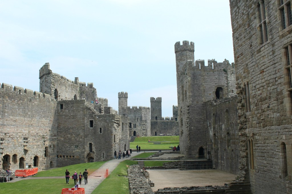 kastelen wales caernarfon castle