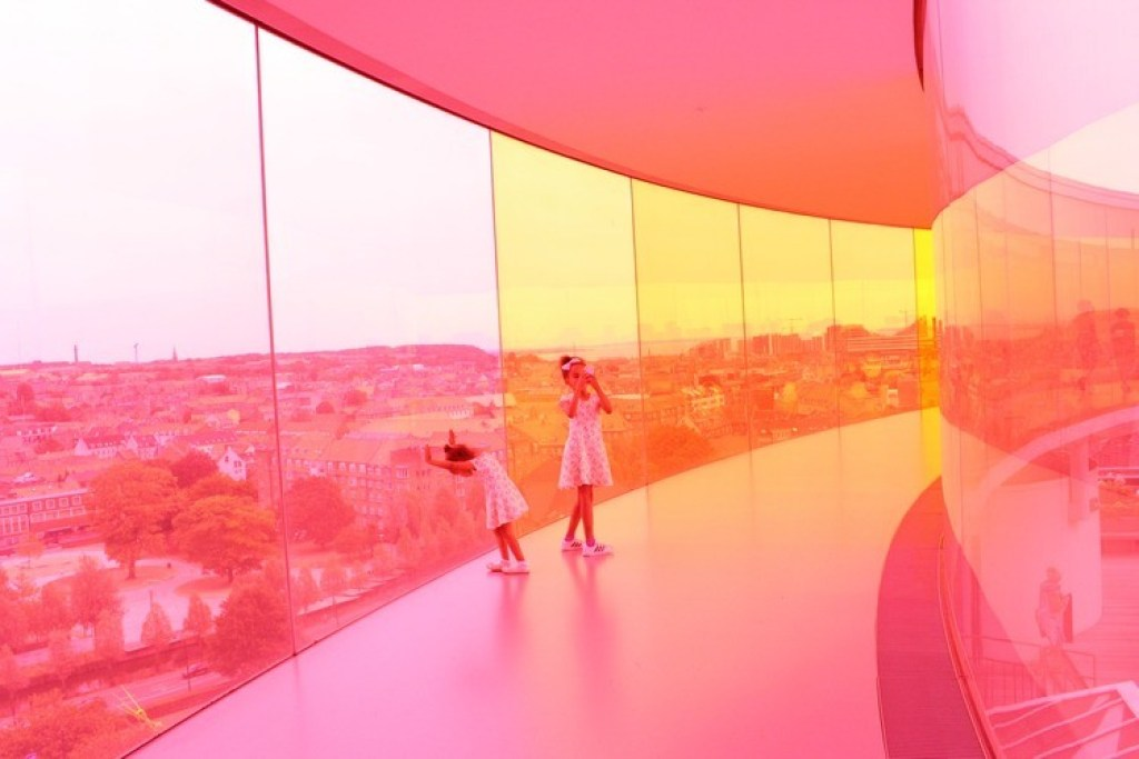 ARoS Kunstmuseum Aarhus rainbow panorama