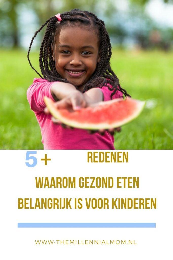 waarom gezond eten belangrijk is voor kinderen