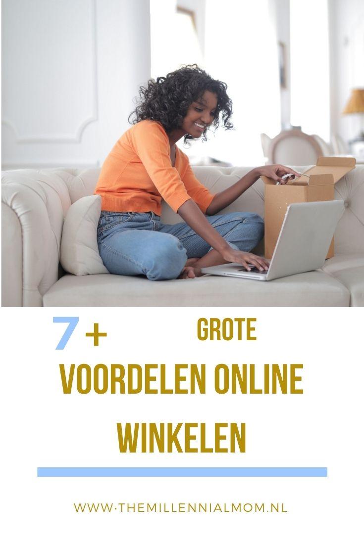 Voordelen online winkelen-themillennialmom