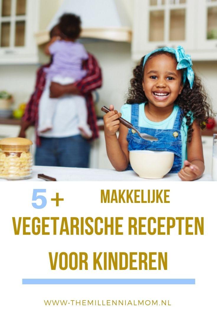 Makkelijke vegetarische recepten voor kinderen