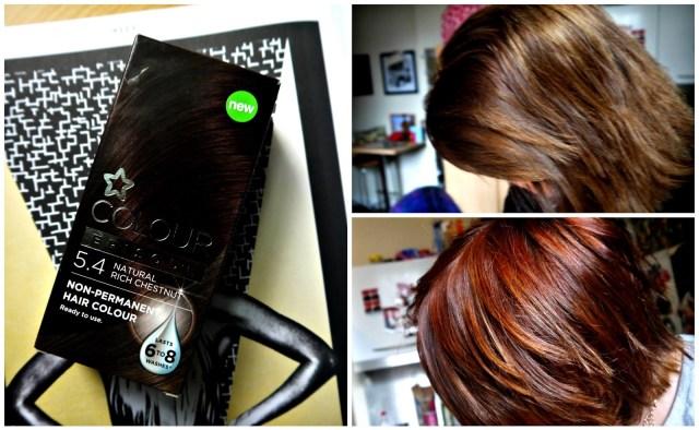 How to turn brunette hair auburn // Superdrug Colour Episode Review