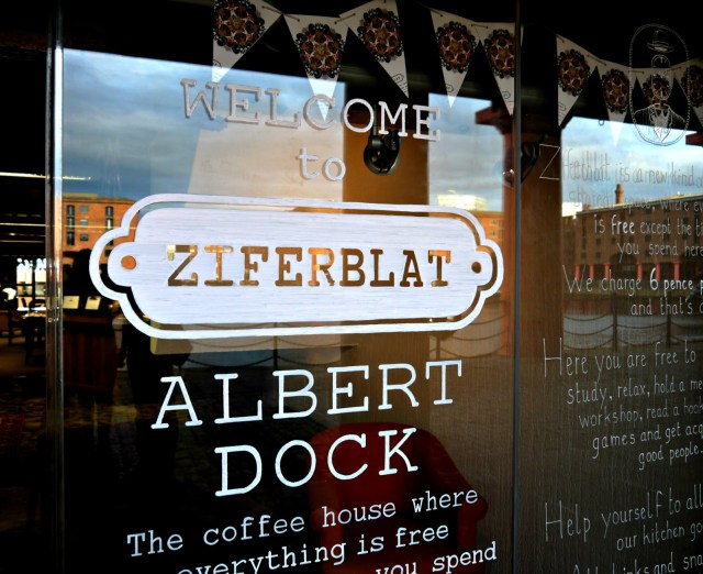 A look inside Ziferblat on Liverpool's Albert Dock