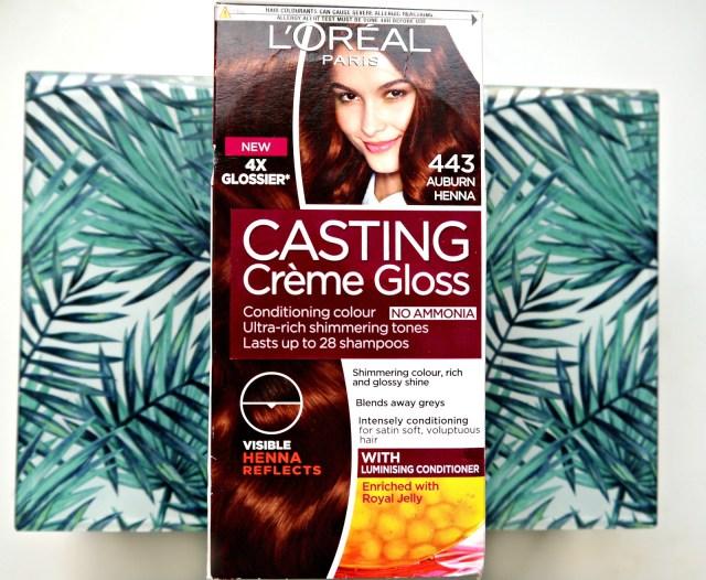 L'Oreal Casting Creme Gloss '443 Auburn Henna'