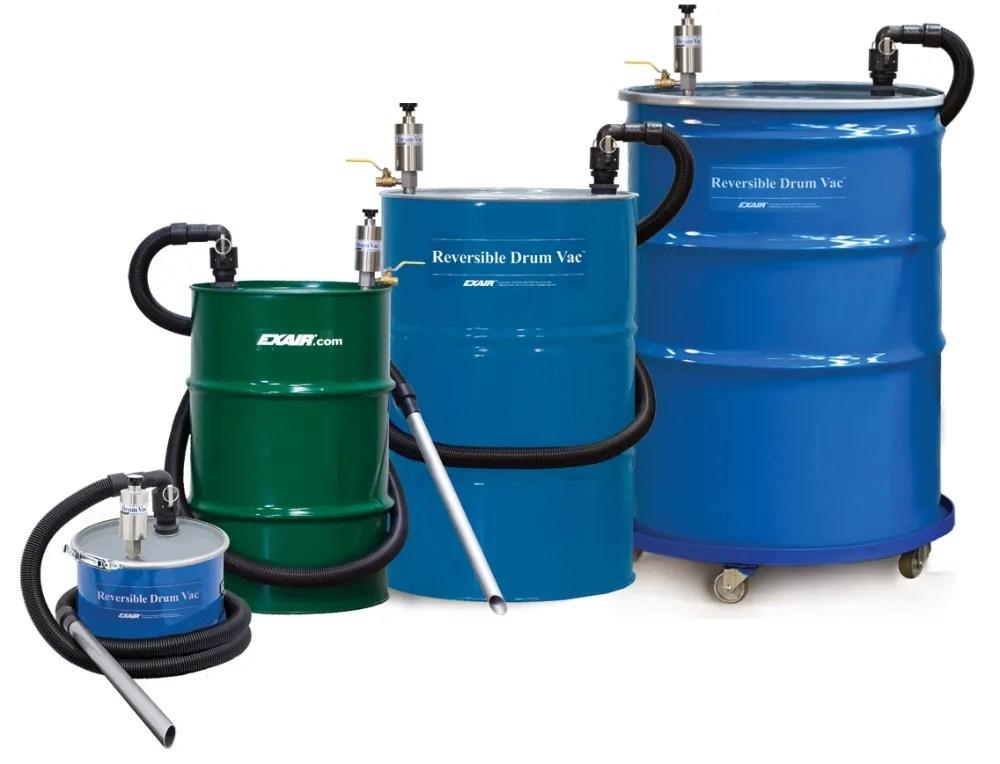 Reversible Drum Vac Pump  Good Hand UK