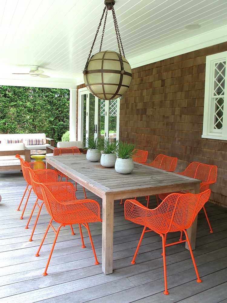 Outdoor Wire Chairs