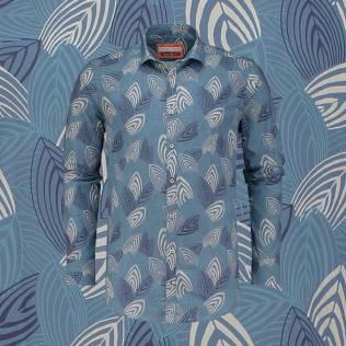 overhemd-blue-branch