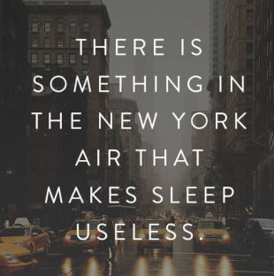 Awesome Captions About New York