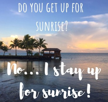 Best Captions for Sunrise Photos and Videos