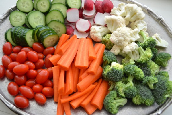 Simple Entertaining The Homemade Veggie Tray Good and
