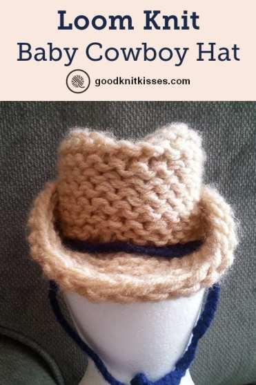 Loom Knit Cowboy Hat Infant Goodknit Kisses
