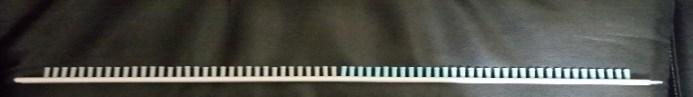 loom knit Mermaid Tail Blanket tail loom set-up