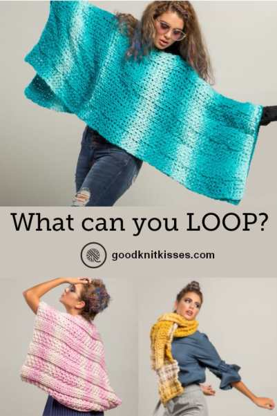 What Can You Make With Loops Yarn Loops Pin Image