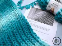 Finger Knit Bolero Shrug materials list