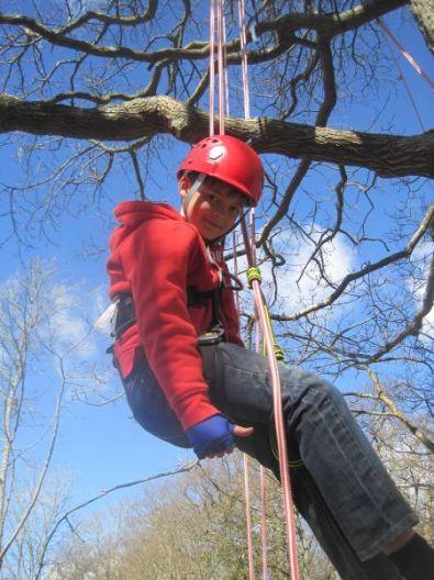 Happy climber!