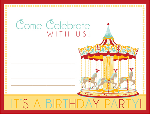 how to host a carnival birthday party