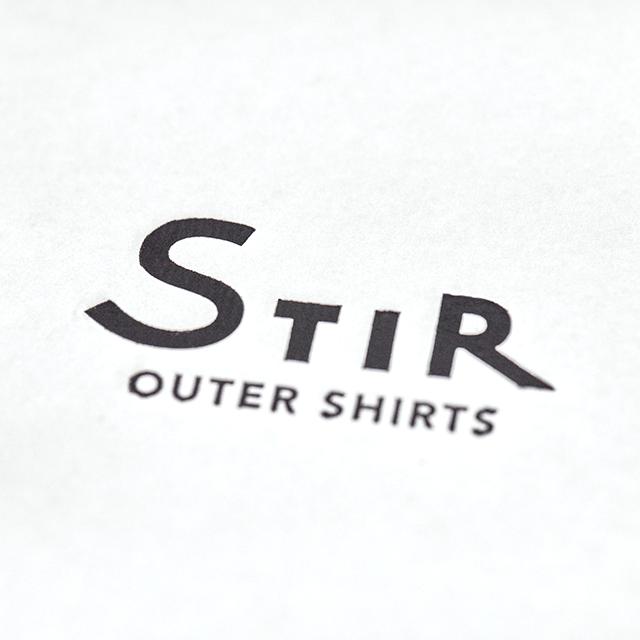 STIR /   白専門ブランドのT-shirt