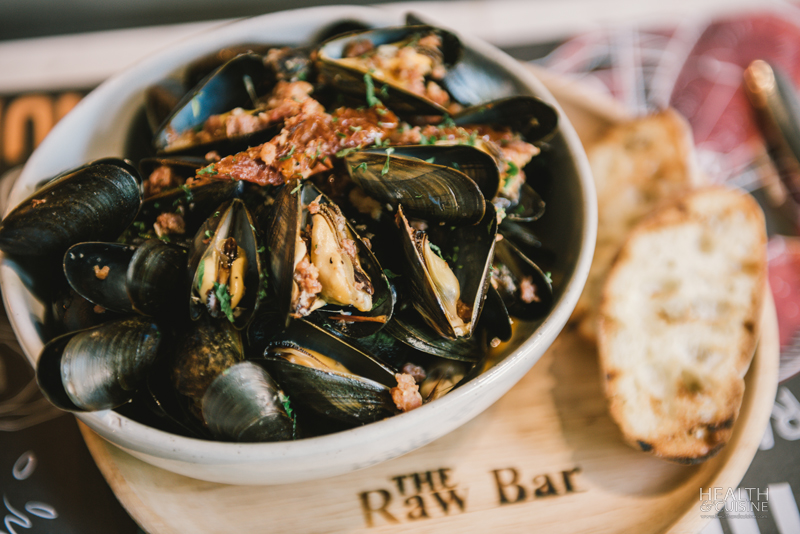 Steamed Blue Mussels Chorizo And Sundried Tomatoes