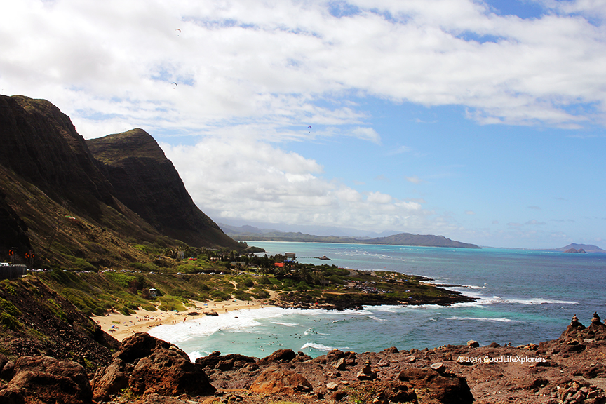 Driving around Oahu, stops for pictures and sighs are a must.
