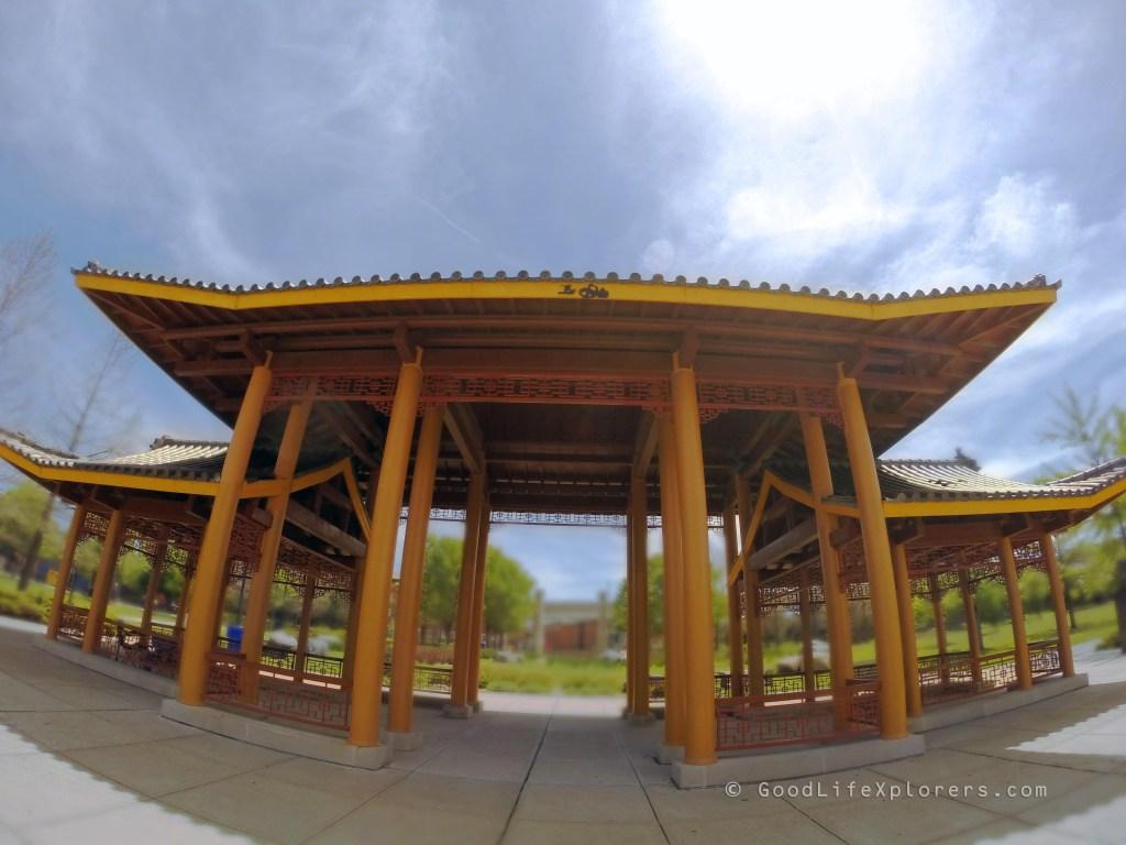 Chicago Chinatown Park Pagoda