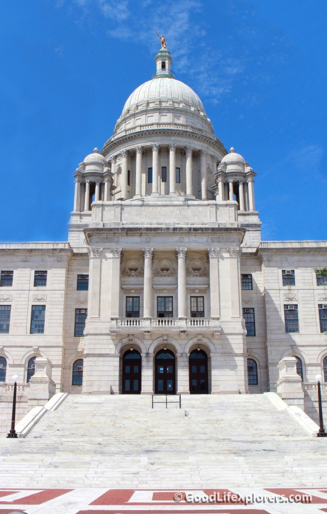 The Capitol in Providence Rhode Island