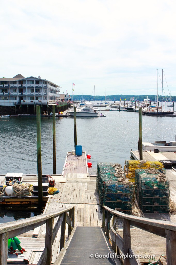Boothsbay Maine Lobster Fishing