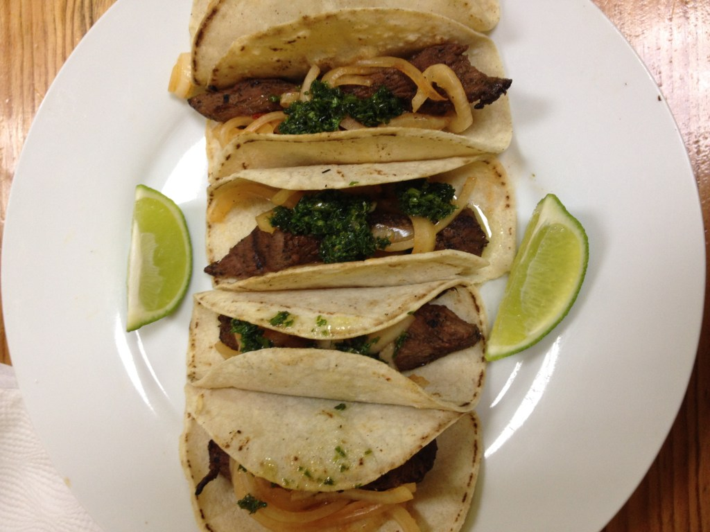 Steak Tacos for US$5