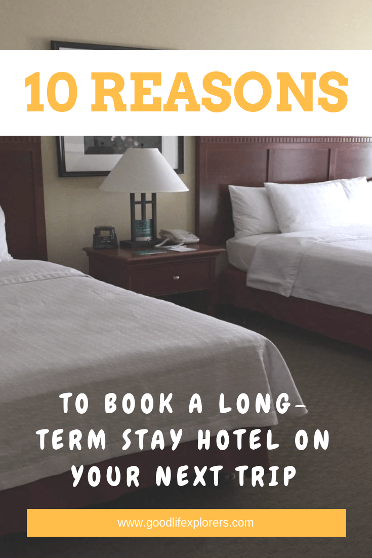 10 reasons to book a long term stay hotel on your next trip, travel, travel tips, long term travel, homewood suites, hilton, hacks, relocation, united states