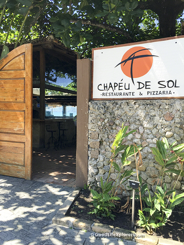 Chapeu de Sol Bar and Restaurant Logo and Entrance