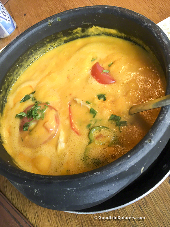 Fish Stew at Coco Bambu Moqueca
