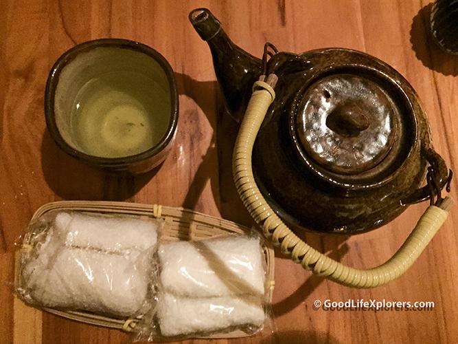 Green Tea Sushi Papaia