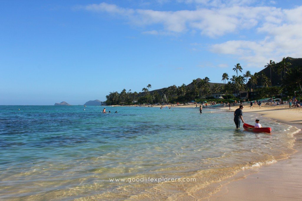 Oahu, beach, ocean, hawaii, travel,  travelblog, Kailua Lanikai Beach