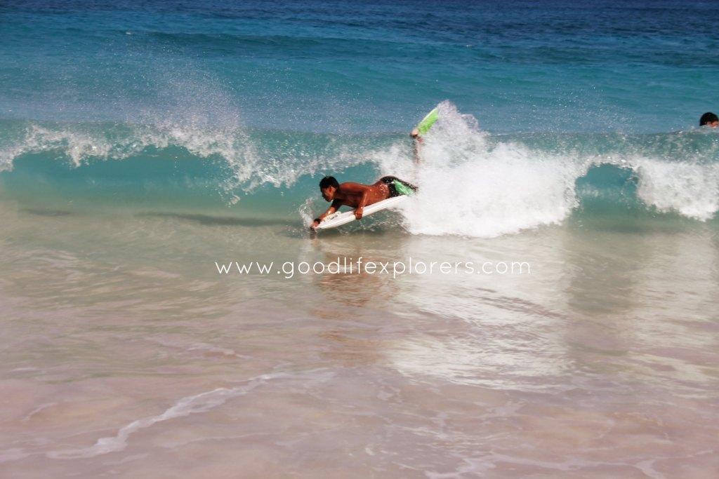 BodyBoarding in Makapu'u Beach