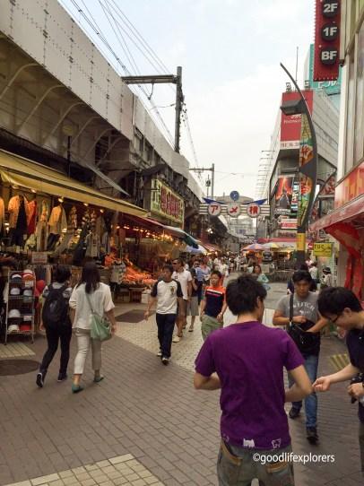Ueno Market Tokyo Japan