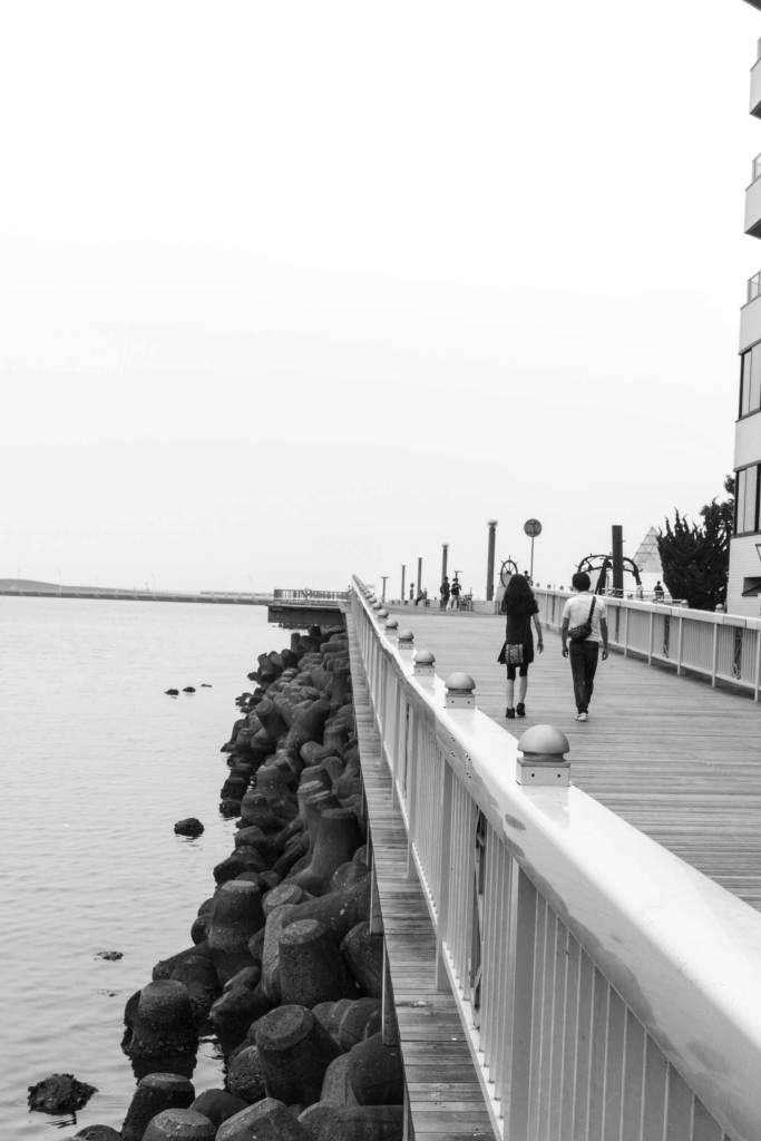 Pier in Aomori Japan