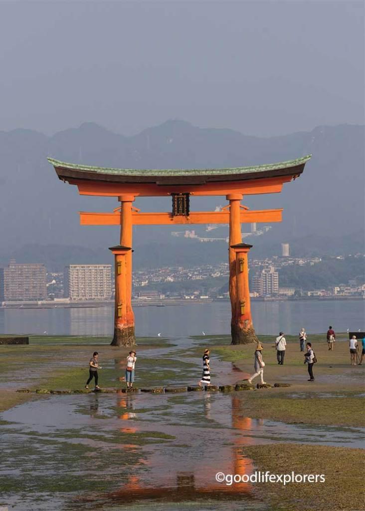 Itsukushima Shrine in Miyajima Island Japan, Itsukushima, Shrine, Shinto, Temple, Buddhism, Japan, Miyajima, Island, Hiroshima, Nature, culture, travel, travelblog, vlog