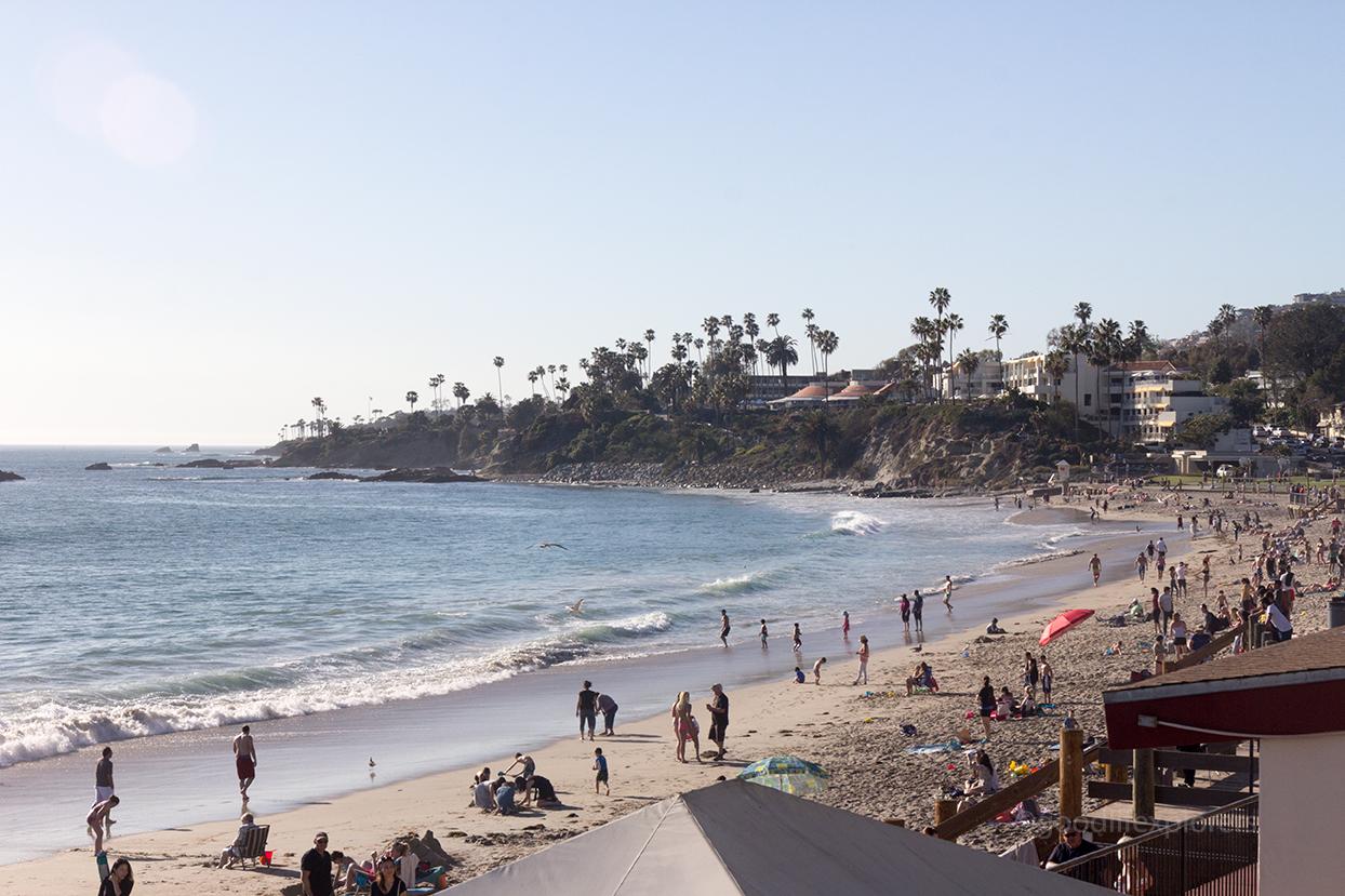 Laguna Beach on a sunny day - Southern California