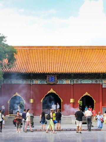 Lama Temple, Beijing, Asia, China, temple, buddhism, tibetan, tourism, travel, travel blog, blogger