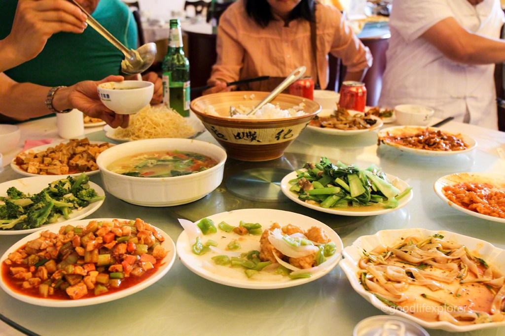 Lunch in Xian China