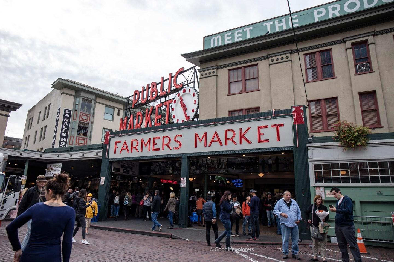 Public Market Farmers Market Pike Place Seattle
