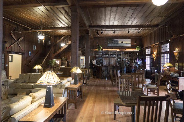 Lake Crescent Lodge interior