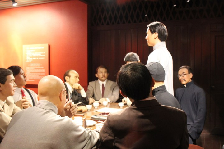 The communist party organizers of China Wax museum