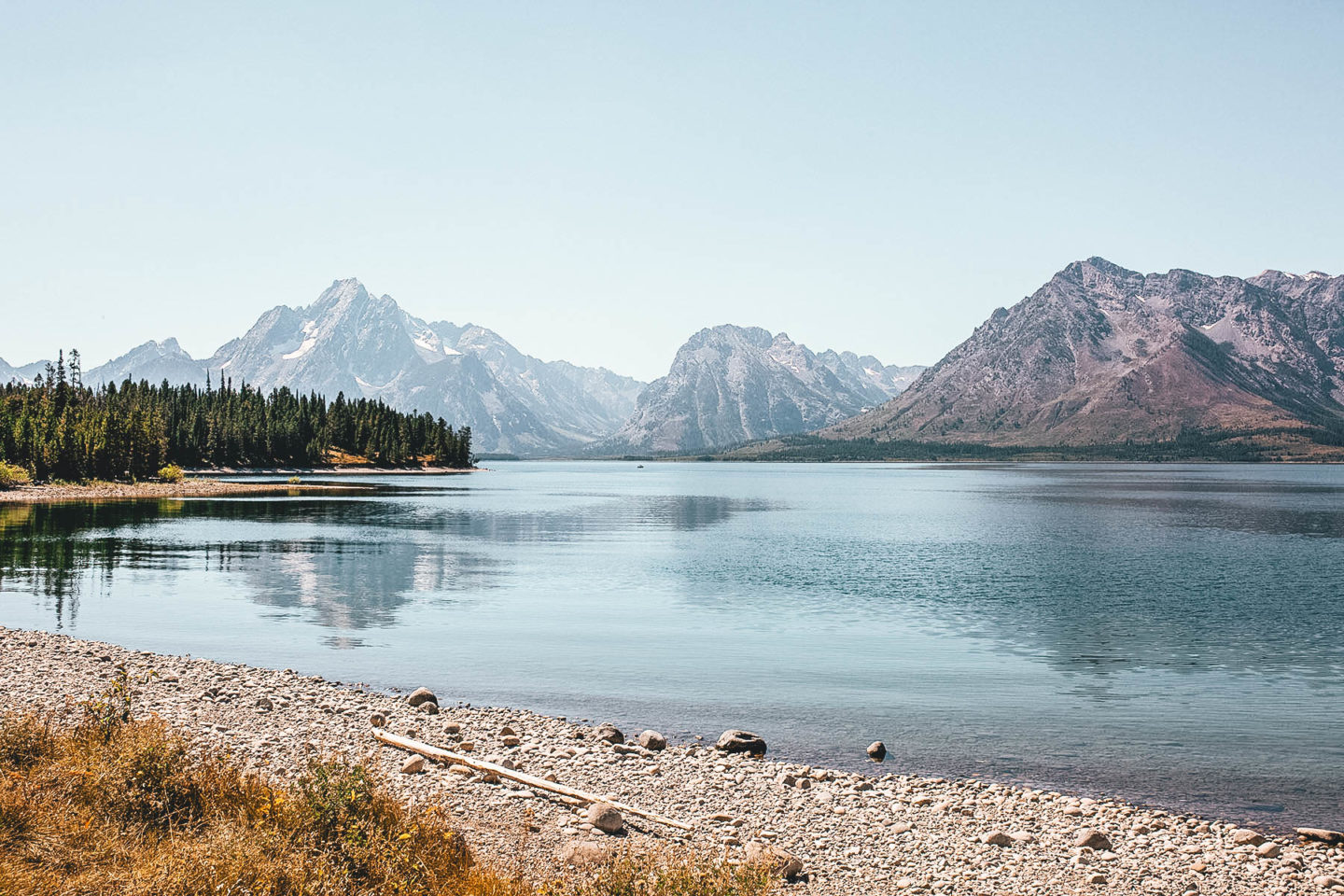 Jackson Lake at Grand Teton National Park