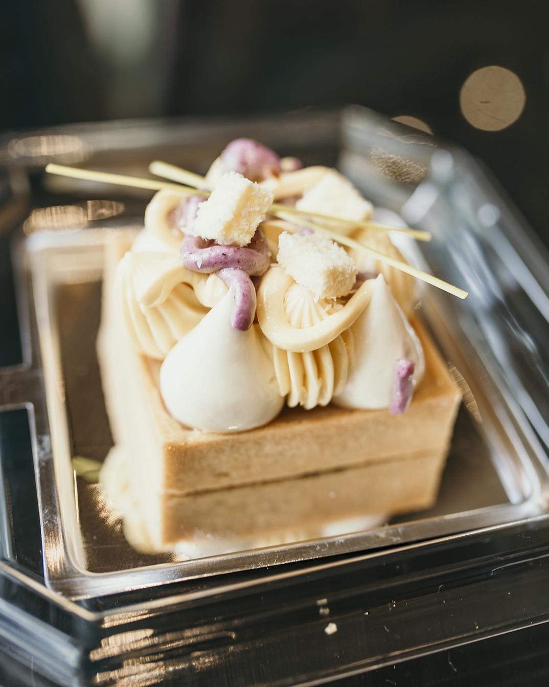 Lemon pie patisserie at the Bellagio Hotel in Las Vegas