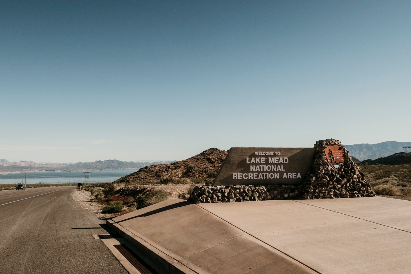 Lake Mead National Recreation Area in Nevada