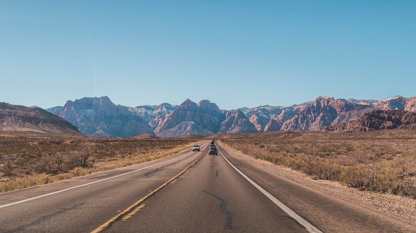 Red Rock Canyon National Conservation Area main road