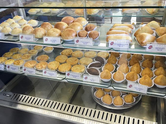 Brazilian Snacks on display in store